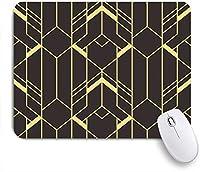 VAMIX マウスパッド 個性的 おしゃれ 柔軟 かわいい ゴム製裏面 ゲーミングマウスパッド PC ノートパソコン オフィス用 デスクマット 滑り止め 耐久性が良い おもしろいパターン (現代のタイルパターン抽象芸術)