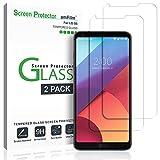 amFilm LG G6 Screen Protector Glass, Tempered...