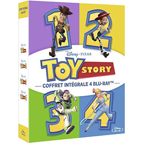 Toy Story 1 + 2 + 3 + 4 [Blu-ray]