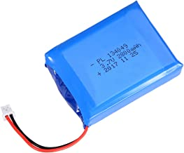 uxcell Power Supply DC 3.7V 2800mAh 134049 Li-ion Rechargeable Lithium Polymer Li-Po Battery