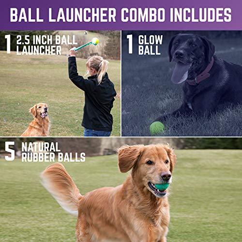 "Ball Launcher - 2.5"" Balls, Ball Launcher - 3"" Balls, Medley 3pk/2.75"", Medley 3pk/3.25"", Small Float and Glow Flyer, Large Float and Glow Flyer"