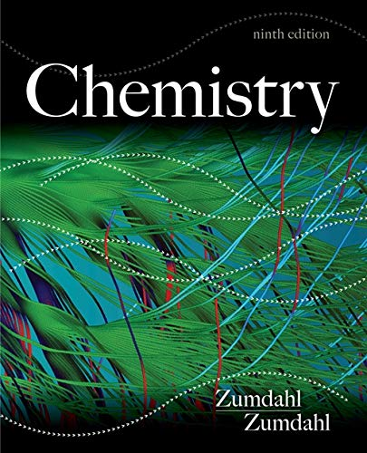 Image OfStudy Guide For Zumdahl/Zumdahl's Chemistry, 9th Edition