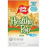Jolly Time, Healthy Pop, Microwave Pop Corn Bags, Butter (Pack of 2)