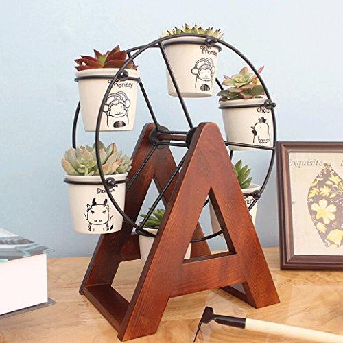 DGF Type de Plancher en Chair Fleur intérieure Plante créative Salon Étude Polyvalente Balcon Porte-Fleurs