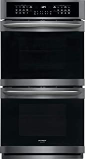 Frigidaire FGET2766UD 27 Inch Electric Double Wall Oven in Black Stainless Steel