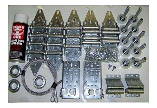 DELUX KIT- Garage Door Tune Up Kit - 2 Car Door -