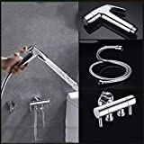 MWKLW Boquilla de Pistola de Inodoro, Bidet de baño Lavado a Mano Lavado a presión Artefacto de Lavado a Alta presión PP