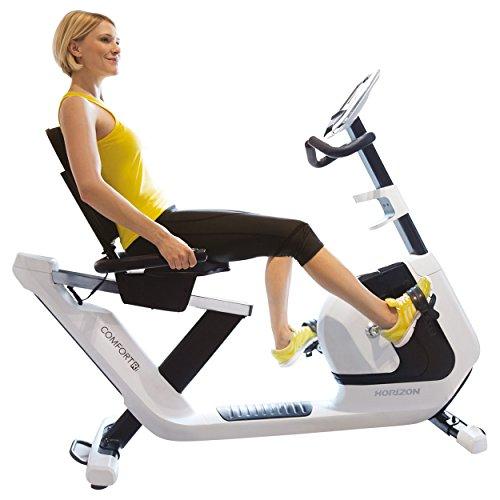 Sport-Tec Horizon Fitness Halbliege-Ergometer Comfort Ri Fahrradtrainer Heimtrainer