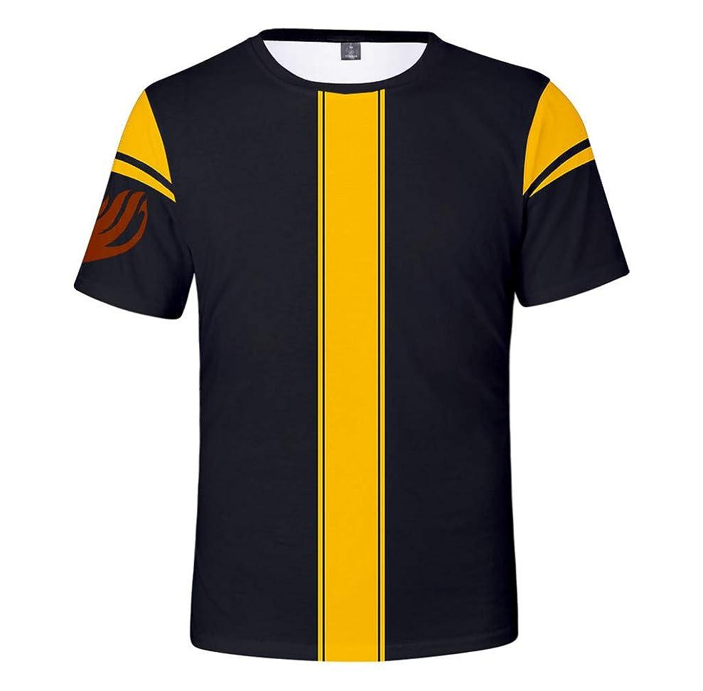 クレタパン屋正気レプラコーンのテイルマジシャンギルドギルド3DデジタルプリントTシャツ。