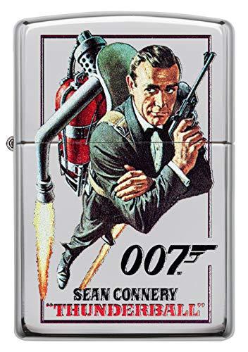 Zippo Briquet Lighter James Bond 18d035