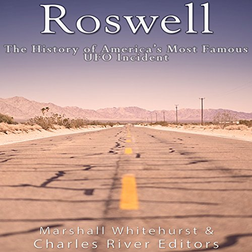 Roswell audiobook cover art