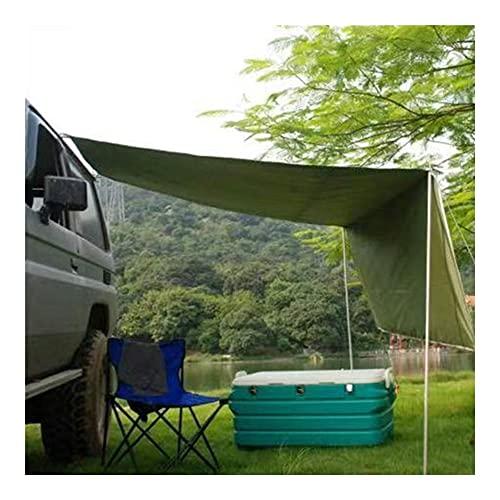 LPL Coche portátil Shelter Shade Camping Side Coche Techo Techo Tienda Toldo Automóvil Automóvil Tolla de Lluvia Tabla de Lluvia Impermeable UV Camping Tienda de campaña