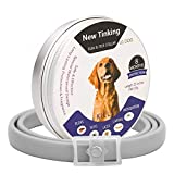 Qpets® Flea Collar Dogs - 8 Month Protection Adjustable Length Dog Collar