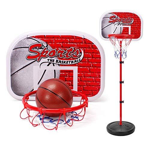 XIUYU Kinder-Basketball Standmontage, tragbare verstellbare Höhe Basketballkorb, Removable Basketball Ständer for Innen und Außen, 1,5 m (Size : 1.5m)