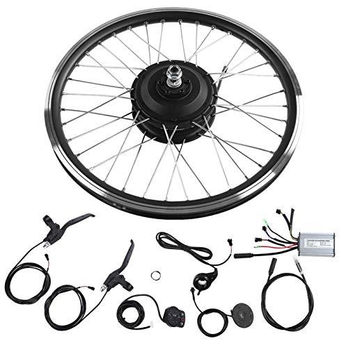"""DAUERHAFT I Kit di conversione per Bici elettriche da 20""""garantiscono Una Grande Alimentazione di Corrente La Forcella Posteriore è di 135 mm 36 V / 48 V 250 W,(#1)"""