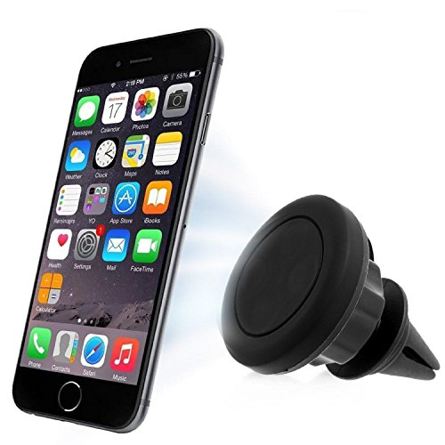 Car Mount, Geekee Magnetic Cradle-less Universal Car Phone Air vent Mount Holder with Pan, Tilt, Swivel,for Nexus 5x / Nexus 6P / iPhone 6s / 6 / 6s Plus / 6 Plus, Galaxy Note 5/ S6 Edge Plus and More