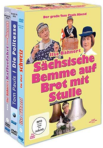 Sächsische Bemme auf Brot mit Stulle - Der große Tom Pauls Abend [3 DVDs]