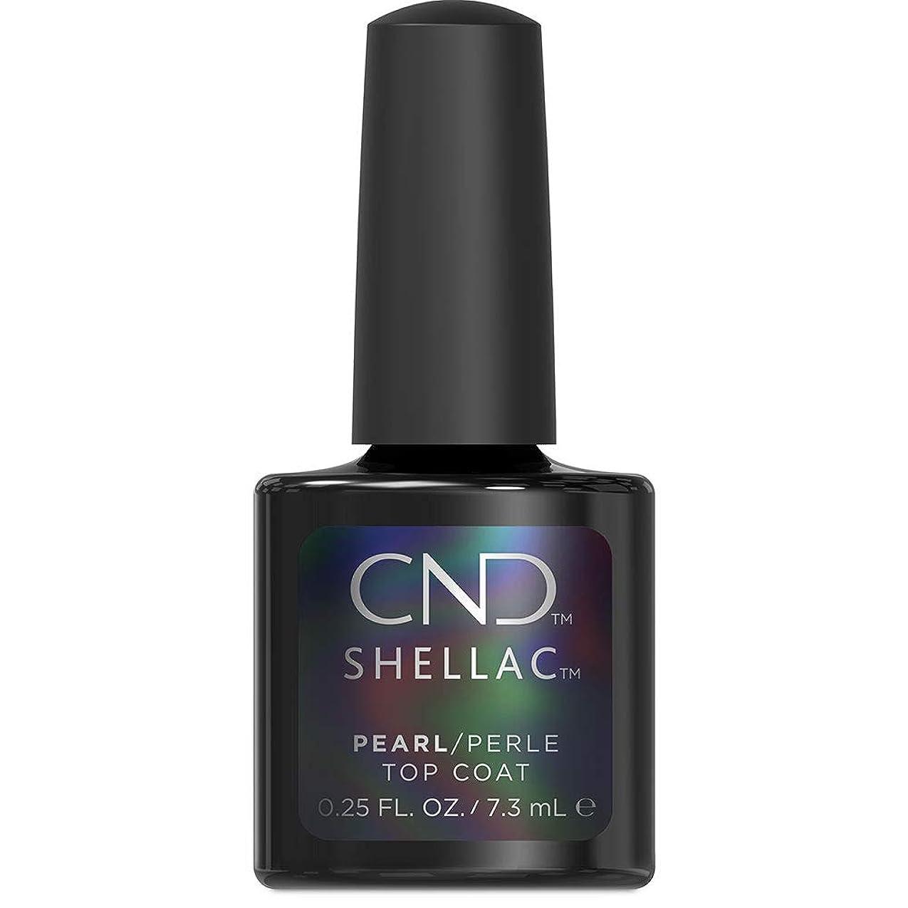 カレンダー繁殖種類CND Shellac - Pearl Top Coat - 7.3 mL / 0.25 oz