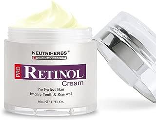 Neutriherbs Retinol Moisturizer Cream for Face Reduce Black Spots and Blemishes,Persistent Moisturizing Reduce Fine Lines 1.7OZ