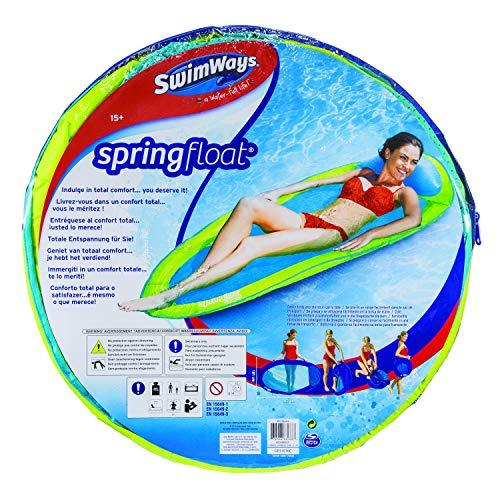 SwimWays 6045237 - Spring Float Original, Wasserhängematte, farblich sortiert