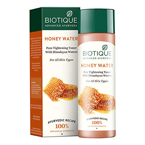 Biotique Honey Water Lightening Freshener with Himlayan Waters for All Skin Types