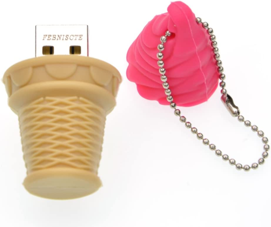 Thumb Drive 8GB USB Flash Cute New arrival Pink Cream Jum Shipping included Ice Pendrive