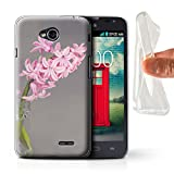 Stuff4® Pink Fashion Collection LG-GC - Cover o Skin per Smartphone LG Hyacinth LG L70/D320