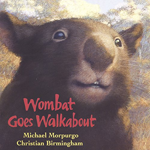 Wombat Goes Walkabout audiobook cover art