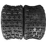 PARTS-DIYER 2 PCS ATV UTV Sport Tires 18x9.5-8 Rear Left & Right 4PR P316