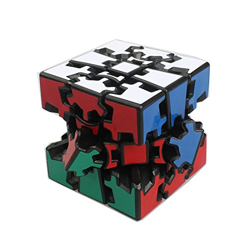3D Gear Cube EasyGame Shifting Speed Cubing - Popular Magic Cube Variant