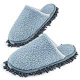 Xunlong Zapatillas de limpieza de piso para hombre y mujer, para...