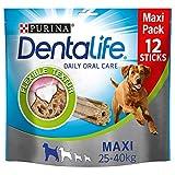 PURINA DENTALIFE Maxi Hunde-Zahnpflege-Snacks, reduziert Zahnstein-Bildung und Mundgeruch, Huhn, große Hunde, 5er Pack (5 x 426g)