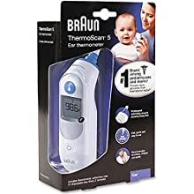 Braun ThermoScan 5 Ear Thermometer - IRT6500 (Pack of 1)