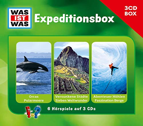 Was Ist Was 3-CD Hörspielbox Vol.2 - Expeditionsbox