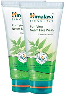 Himalaya Purifying Neem Face Wash, 150ml 2 Pack Offer (ValuePack)