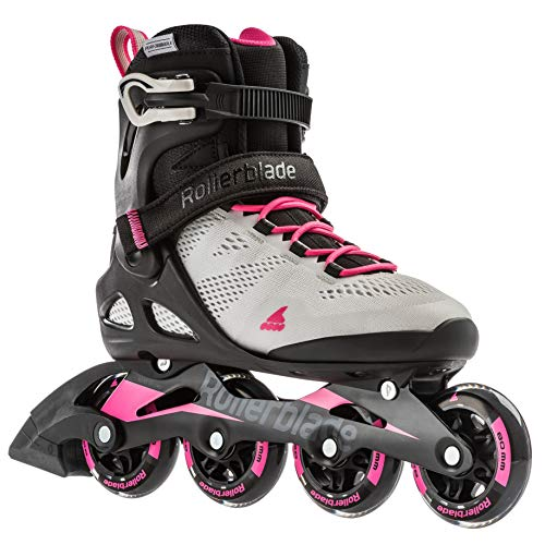Rollerblade Damen MACROBLADE 80 W Inline-Skate, cool Grey/Candy pink, 275