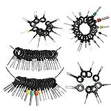 Ruidada 73Pcs Set Pin Eyector Wire Kit Extractor Auto Unlock Tool Conector Terminal Eyector Kit, Wire Terminal Removal Tool, Car Model Removal Tool Kit