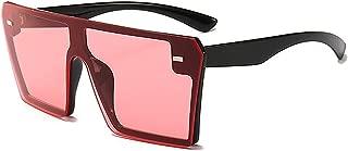 Oversize Square Sunglasses Women Gradient Glasses Men