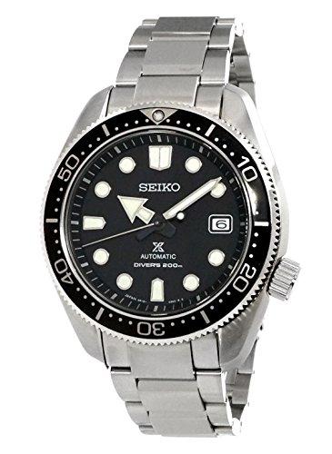 SEIKO Herren Analog Automatik Uhr mit Edelstahl Armband SPB077J1
