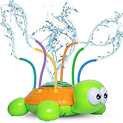 Amazon - Save 50%: Kids Sprinklers for Yard Flower, Sprinkler Toy for Babies and Toddlers Outd…