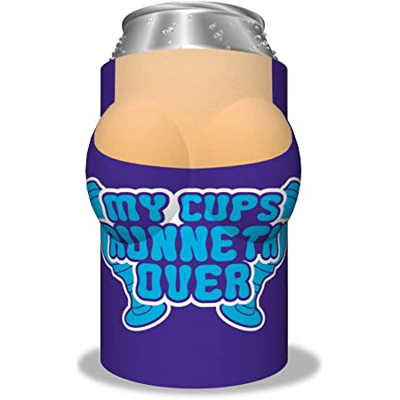 Boobzie Insulated Can Cover Sleeve/Cooler Cozy - My Cups Runneth Over