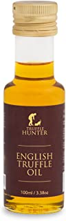 TruffleHunter Aceite de Trufa Inglesa (100ml) - Aceite de colza con trufa negra inglesa Tuber Aestivum Aceite Trufado Vegano Vegetariano Kosher Sin gluten Sin frutos secos