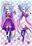 Home Goodnight Shiro - NO Game NO Life 2 Way Tricot 160cm x 50cm Anime Körper Kissenbezug