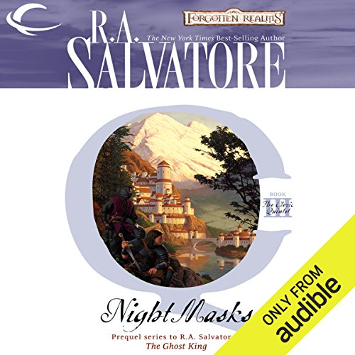Night Masks audiobook cover art