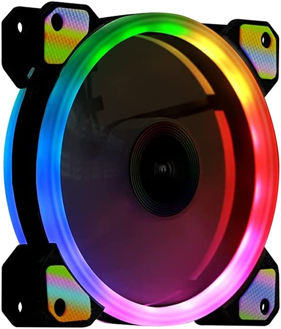 WCN Fans LED Case Fan safety Silent RGB Per for Cases Choice Computer High