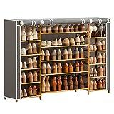 KUNYTLINN zapateros Zapato Rack Zapato Gabinete Mueble de Almacenamiento Super Capacidad Zapato Torre de Zapatería Rack de Almacenamiento armarios (Color : B)