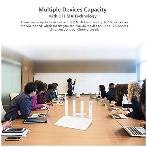 HONOR Router 3 Wi-Fi 6 Enrutador Inalámbrico de Doble Banda, Velocidad de Wi-Fi máximo 3000 Mbps (5GHz + 2.4 GHz… 5