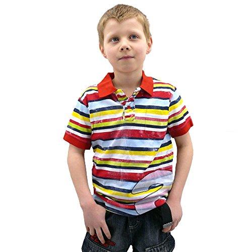 Desigual - Polo - para Hombre Rojo Multicolor