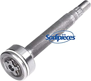 137646, 137645 Replacement Spindle Shaft Kit With Bearings.