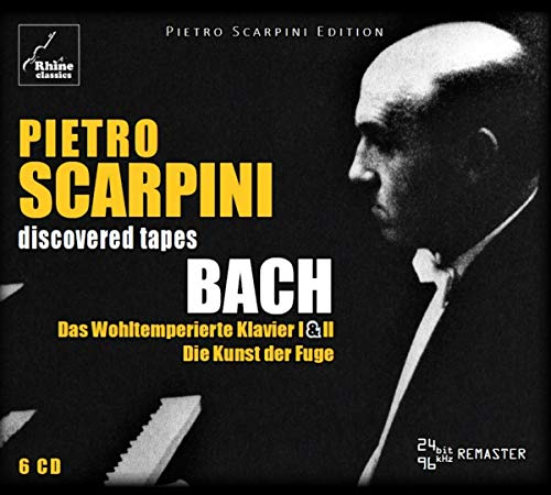 Scarpini Plays Bach (6CD-box)